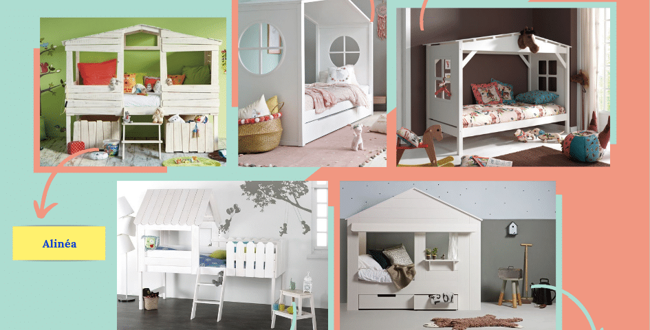 un lit cabane pour votre enfant