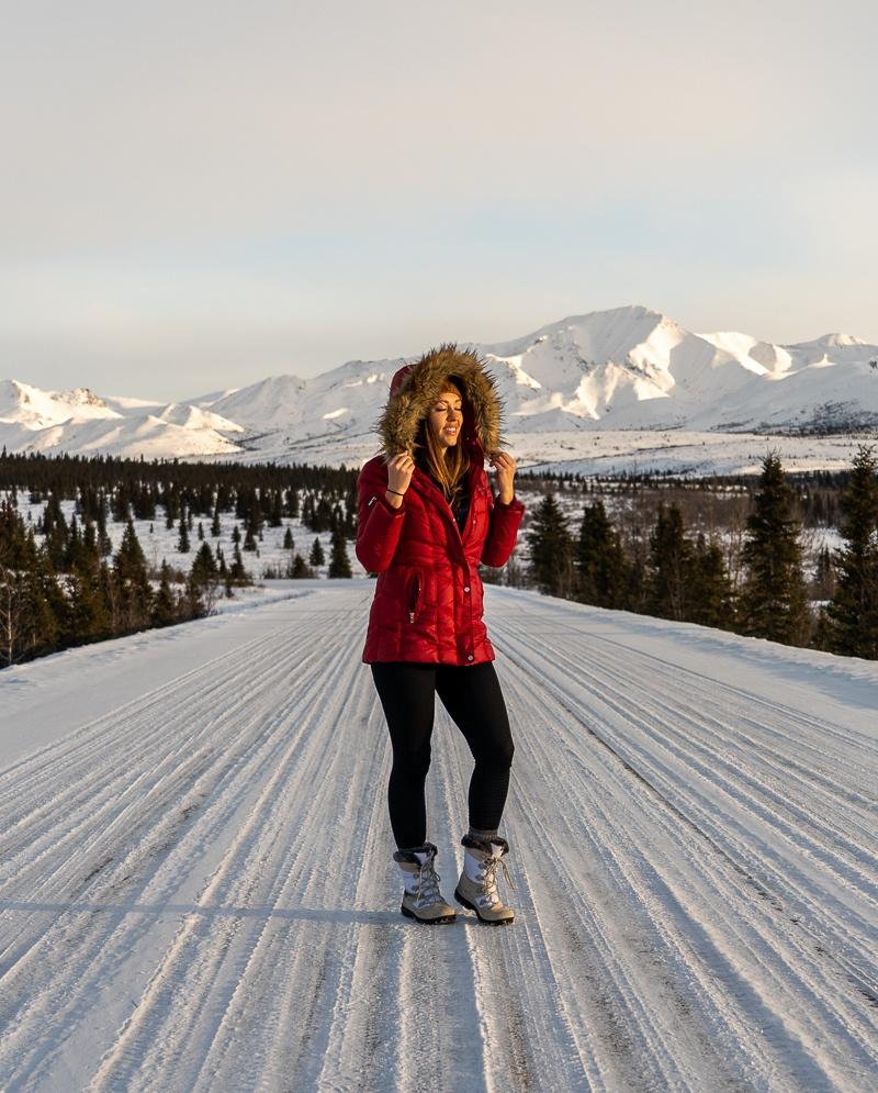 alaska in the winter