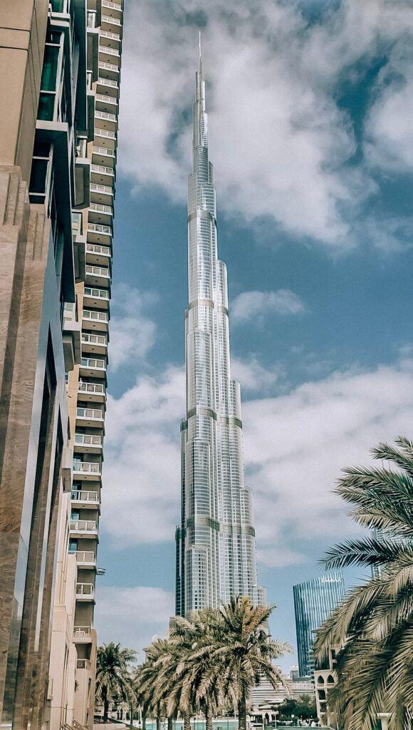 Burj Khalifa - travel in Dubai.