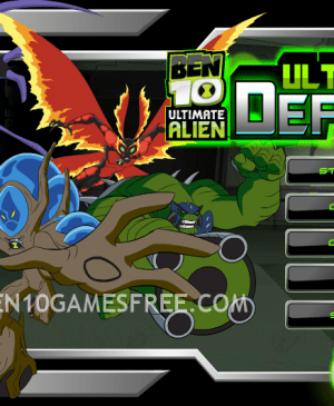 Ben 10 Ultimate Defense Game