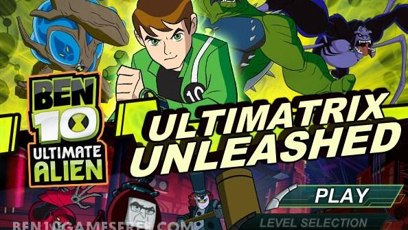 Ben 10 Ultimatrix Unleashed game