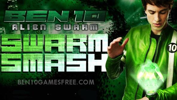 Ben 10 Alien Swarm Smash Game Download, Play Online
