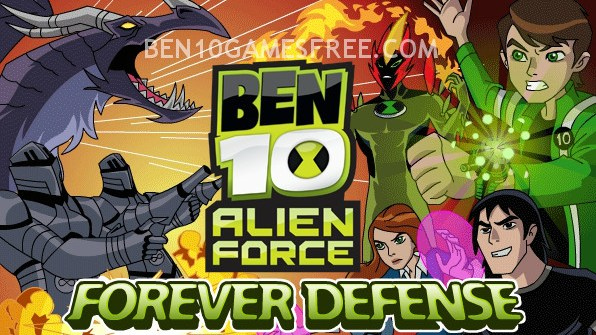 Ben 10 Forever Defense Game