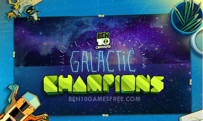 Ben 10 Omniverse Galactic Champions - Free online hero ...