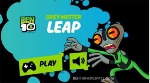 Ben 10 Grey Matter Leap Game