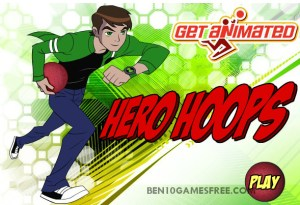 Ben 10 Hero Hoops game