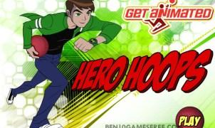 Ben 10 Hero Hoops game