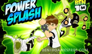 Ben 10 Power Splash Game