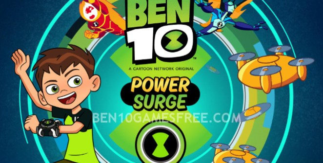 Ben 10 Power Surge Game