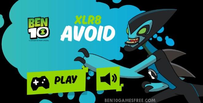 Ben 10 XLR8 Avoid Game