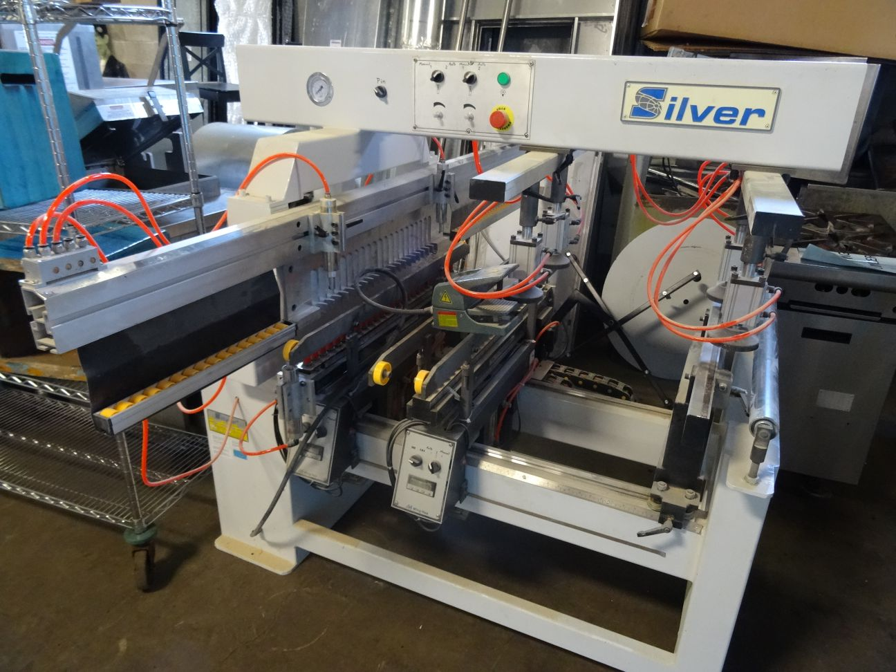 concluded! - multi industry auction - cnc router & stone