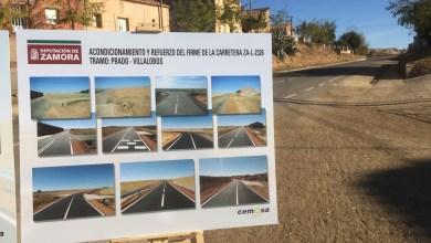 Photo of Inaugurada la carretera que une las localidades de Villalobos y Prado