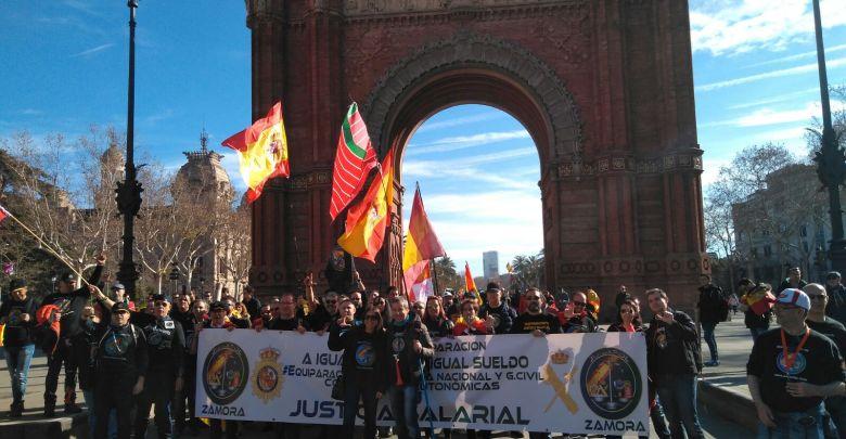 Photo of Jusapol no cesa con sus manifestaciones por la equiparación salarial