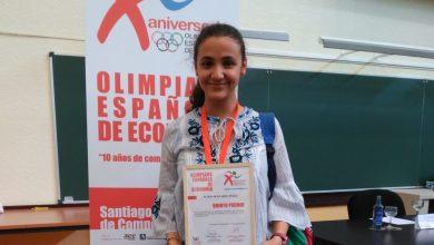 Photo of María Bernardo ganadora de la Olimpiada de Economía de Castilla y León