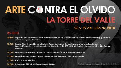 Photo of Segunda edición de Arte Contra el Olvido en La Torre del Valle
