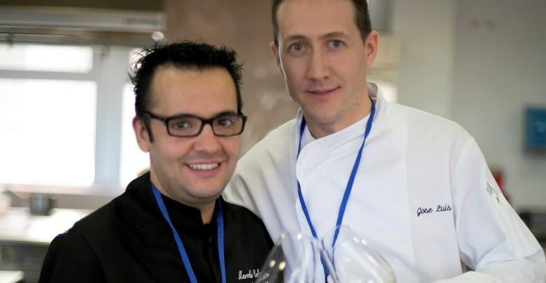 """Photo of José Luis Santos y Marcelino Calvo, de El Ermitaño, finalistas del prestigioso concurso """"Copa Jerez"""""""