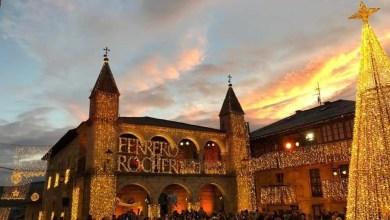 Photo of Así lucen las calles de Puebla de Sanabria con Ferrero Rocher