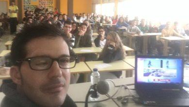 Photo of Iván Bragado, ejemplo de superación para los alumnos del León Felipe
