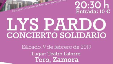 Photo of Lys Pardo, hija de Juan Pardo, visita Toro en un concierto solidario a favor de la GEPAC