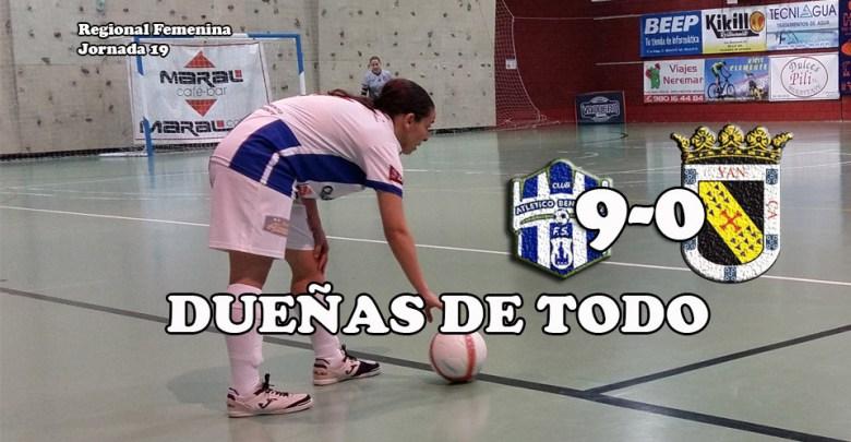 Photo of El Caja Rural femenino muy superior al Coyanza al que ganó por 9-0