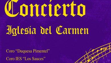 Photo of Concierto del coro «Duquesa Pimentel» e IES Los Sauces en la Iglesia del Carmen