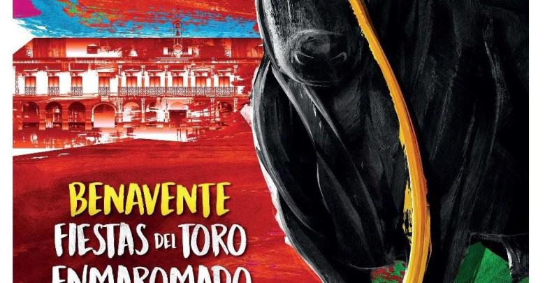Cartel Toro Enmaromado 2019 - Benavente