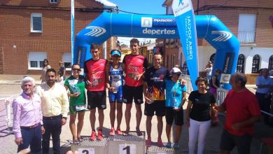 Photo of Pepa Garcia campeona de Castilla y León de Triatlón Olímpico