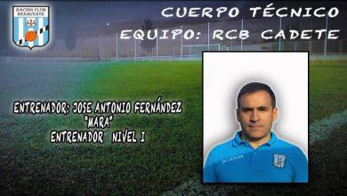 Photo of Mara será el entrenador del cadete del Racing Benavente