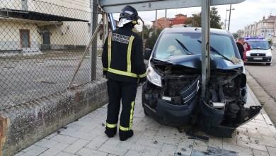 Photo of Trasladado a Zamora tras chocar contra una señal en Villalpando