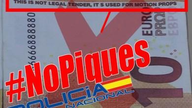 Photo of La Policía Nacional alerta de la aparición una serie de billetes falsos