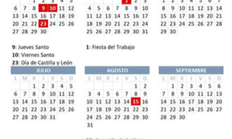 Photo of Calendario laboral de 2020 con 13 festivos nacionales