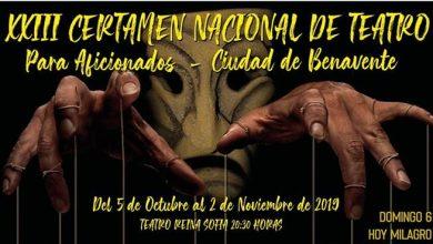 Photo of Nominaciones del XXIII Certamen Nacional de Teatro para Aficionados «Ciudad de Benavente»