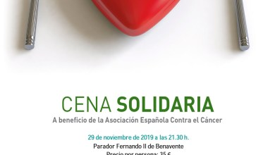 Photo of Cena Solidaria a beneficio de la AECC de Benavente