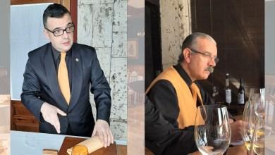 """Photo of Nino Martínez y Marcelino Calvo, del restaurante El Ermitaño, premiados como """"Mejor servicio de sala"""""""