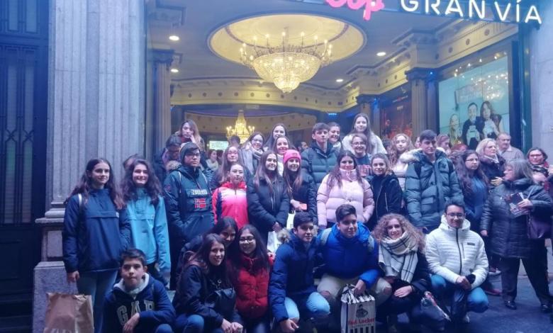Photo of Los alumnos de Los Sauces viven la música en directo en su vista a Madrid