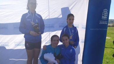 Photo of Las chicas de la Marea Azul triunfan en San Martín de Tábara con cuatro pódiums