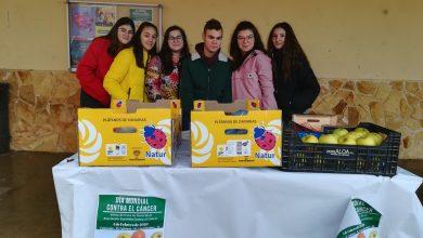 Photo of Los alumnos de La Vega recaudan 400 euros con la venta de fruta para la AECC