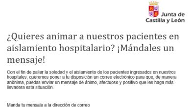 Photo of ¿Quieres animar a los pacientes en aislamiento hospitalario? Mándales un mensaje