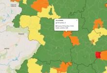 Photo of Benavente vuelve al verde y Villalpando en zona naranja en el mapa del coronavirus en Zamora