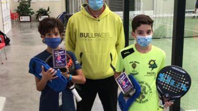 Photo of Buenos resultados para los benaventanos en la 2ª prueba del circuito regional de Pádel de menores