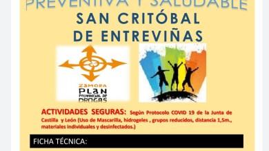 Photo of San Cristóbal organiza este viernes una gymkana preventiva y saludable