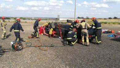 Photo of Los bomberos benaventanos se forman en labores de excarcelación en accidentes de tráfico
