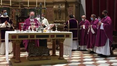 Photo of Homilía en el primer aniversario de la muerte de Mons. Gregorio Martínez Sacristán, obispo de Zamora
