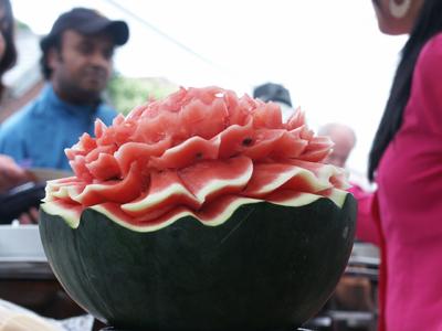 Melon art!