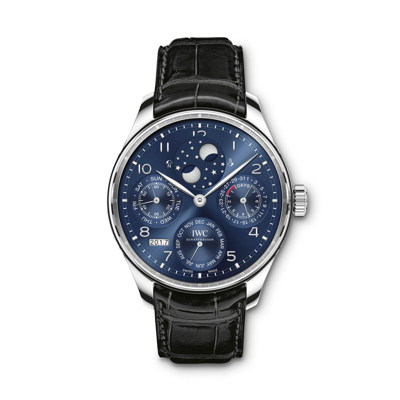 Iwc Portugieser Perpetual Calendar Moon Phase Watch 18k
