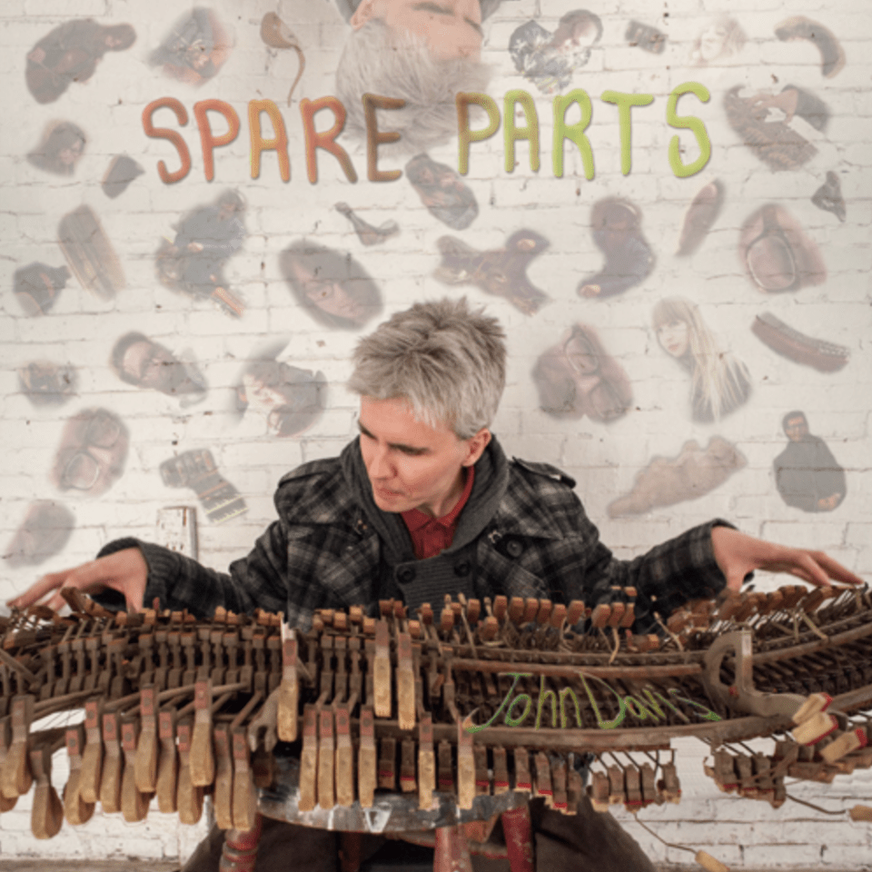 <b><u>John Davis - Spare Parts</b></u><br><i>(2013, Shrimper/Riot Act)</i><br><small>recording engineer</small>