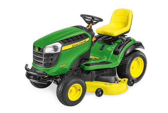 John Deere X166 Ride On Lawn Mower Ben Burgess