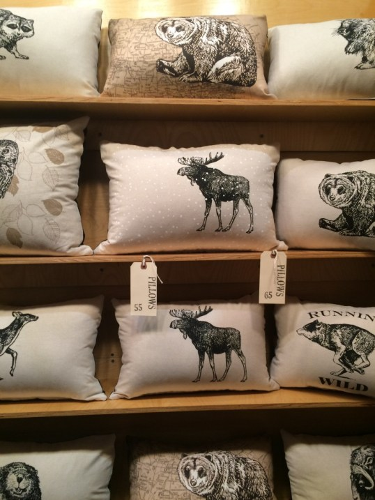 SparrowAvenue pillows from the Toronto one of a kind show