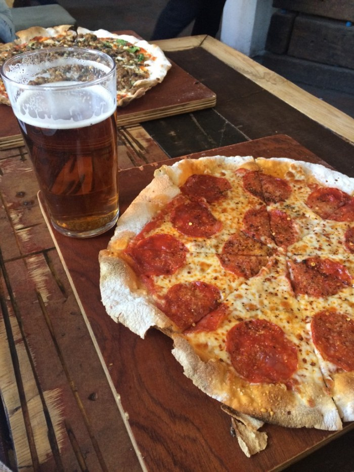 Pizza and Beer image