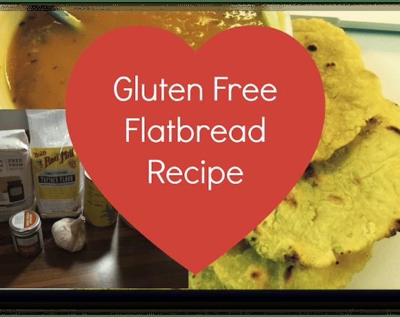 glutenfree flatbread